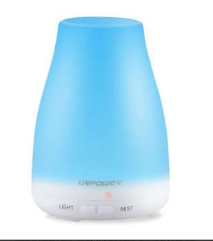 Essential Oil Diffuser Aroma Essential Oil Cool Mist Humidifier with Adjustable Mist Mode,Waterless Auto Shut-off and 7 Color LED Lights Changing for Home Office BabyEssential Oil Diffuser Aroma Essential Oil Cool Mist Humidifier with Adjustable Mist Mode,Waterless Auto Shut-off and 7 Color LED Lights Changing for Home Office Baby<br>