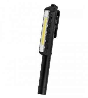3W COB LED Pen Shaped Work Light with Rotating Magnetic Clip3W COB LED Pen Shaped Work Light with Rotating Magnetic Clip<br>