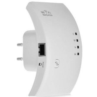 300Mbps Wireless Networking Signal Amplifier Wi-Fi Repeater  (EU Plug)300Mbps Wireless Networking Signal Amplifier Wi-Fi Repeater  (EU Plug)<br>