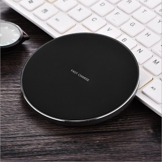 Fast Wireless Charger Ultra Slim Quick Charge Qi Wireless Charging Pad for Samsung Galaxy Note 8 S8 S7 Edge S6 Edge iPhone X 8 Plus and all QI-EnabledFast Wireless Charger Ultra Slim Quick Charge Qi Wireless Charging Pad for Samsung Galaxy Note 8 S8 S7 Edge S6 Edge iPhone X 8 Plus and all QI-Enabled<br>