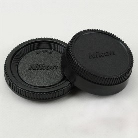 Body Front + Rear Lens Cap Cover Set For Nikon AF AF-S Lens DSLR SLR CameraBody Front + Rear Lens Cap Cover Set For Nikon AF AF-S Lens DSLR SLR Camera<br>