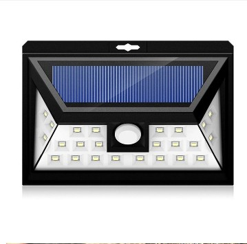 SOLAR LIGHTS OUTDOOR 24 LEDs, Super Bright Motion Sensor Lights with Wide Angle Illumination, Wireless Waterproof Security Lights for Wall, Driveway, Patio, Yard, GardenSOLAR LIGHTS OUTDOOR 24 LEDs, Super Bright Motion Sensor Lights with Wide Angle Illumination, Wireless Waterproof Security Lights for Wall, Driveway, Patio, Yard, Garden<br>