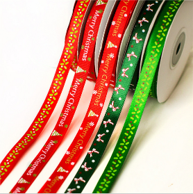 25 yard Grosgrain Satin Fabric Ribbon Set For Christmas, Holiday, Winter Package Gift Wrapping25 yard Grosgrain Satin Fabric Ribbon Set For Christmas, Holiday, Winter Package Gift Wrapping<br>