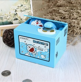 Automatic Coin Stealing Cartoon Toy Money Box Piggy Bank mischief Saving boxAutomatic Coin Stealing Cartoon Toy Money Box Piggy Bank mischief Saving box<br>