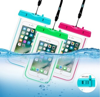 3Pack Universal Waterproof Case CellPhone Dry Bag Pouch For IPhone 8 7 Plus 6s 6s Plus 5s Se Galaxy S8 S7 Edge Note 4 3 LG G6 G5 G4 HTC One X3Pack Universal Waterproof Case CellPhone Dry Bag Pouch For IPhone 8 7 Plus 6s 6s Plus 5s Se Galaxy S8 S7 Edge Note 4 3 LG G6 G5 G4 HTC One X<br>