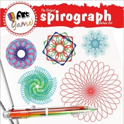 Spirograph Deluxe Design Set Spiral Drawing Tool KitSpirograph Deluxe Design Set Spiral Drawing Tool Kit<br>