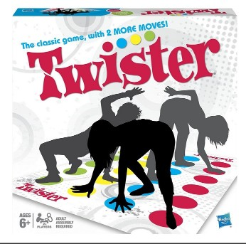 Classic Twister Game for Sport Party GameClassic Twister Game for Sport Party Game<br>