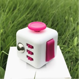 Fidget Toy Cube Relieves Stress and Anxiety for Children and AdultsFidget Toy Cube Relieves Stress and Anxiety for Children and Adults<br>