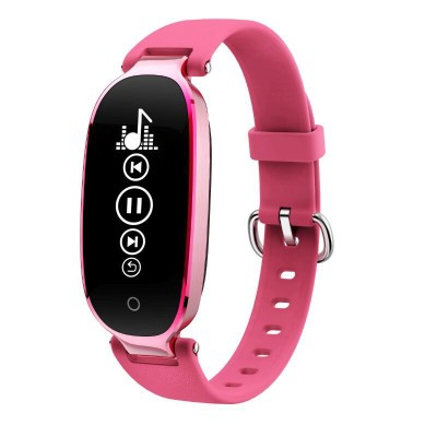 S3 Female Smart Bracelet IP67 Water Resistant Pedometers Exercise Record Sports Heart Rate Monitor for iOS AndroidS3 Female Smart Bracelet IP67 Water Resistant Pedometers Exercise Record Sports Heart Rate Monitor for iOS Android<br>
