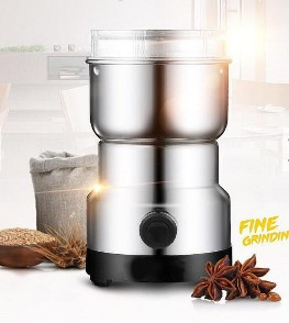 220V Electric Stainless Steel Home Grinding Milling Machine Coffee Bean Grinder Kitchen Tool220V Electric Stainless Steel Home Grinding Milling Machine Coffee Bean Grinder Kitchen Tool<br>