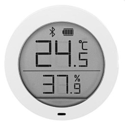 Xiaomi Mijia Bluetooth Temperature Humidity Sensor LCD Screen Digital Thermometer Hygrometer Moisture Meter - WhiteXiaomi Mijia Bluetooth Temperature Humidity Sensor LCD Screen Digital Thermometer Hygrometer Moisture Meter - White<br>