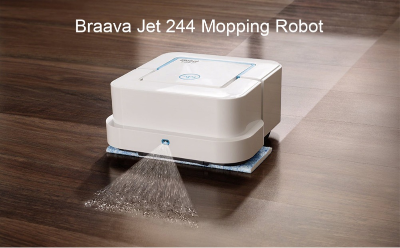 iRobot Braava Jet 244 Mopping Robot Home CleaneriRobot Braava Jet 244 Mopping Robot Home Cleaner<br>