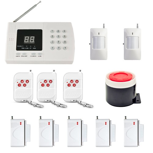 Danmini YA-601-PSTN-1 99 Zones Wireless PIR Home Security Burglar Alarm System Auto DialerDanmini YA-601-PSTN-1 99 Zones Wireless PIR Home Security Burglar Alarm System Auto Dialer<br>