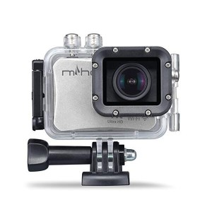 Miho SDV 8560Q Action Camera 196ft Underwater Camera 4K 30fps 16MP Ultra HD Sports Camcorder with WiFi Remote Control Sony Sensor and FOV 130 Wide Angle LensMiho SDV 8560Q Action Camera 196ft Underwater Camera 4K 30fps 16MP Ultra HD Sports Camcorder with WiFi Remote Control Sony Sensor and FOV 130 Wide Angle Lens<br>
