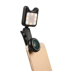 Apexel APL-3663FL Universal Led Fill light Selfie Wide Angle Macro Lens for Mobile Phone TabletApexel APL-3663FL Universal Led Fill light Selfie Wide Angle Macro Lens for Mobile Phone Tablet<br>