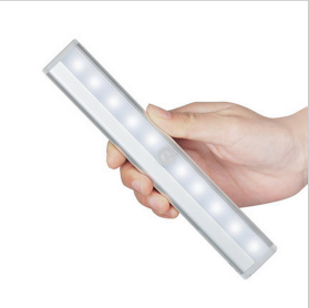 10-LED Battery Operated Stick-on Motion Sensing LED Light Bars10-LED Battery Operated Stick-on Motion Sensing LED Light Bars<br>