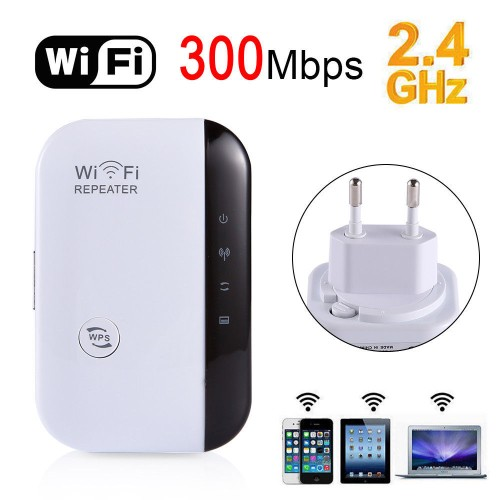 300Mbps Signal Extender Booster Wireless-N AP Range 802.11 Wifi Repeater EU Plug300Mbps Signal Extender Booster Wireless-N AP Range 802.11 Wifi Repeater EU Plug<br>