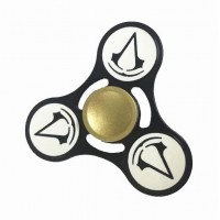 Assassin's Creed Alloy Tri Fidget Hand Spinner Triangle Finger EDC Focus Stress ADHD Gyro Toy