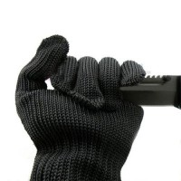 Stainless Steel Wire Mesh Cut Resistant Mechanic Gloves Level 5 Protection Cut-proof Chain Saw Band Safty Working Kitchen Butcher Gloves (1 Pair)Stainless Steel Wire Mesh Cut Resistant Mechanic Gloves Level 5 Protection Cut-proof Chain Saw Band Safty Working Kitchen Butcher Gloves (1 Pair)<br>