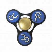 Guilty Crown Alloy Tri Fidget Hand Spinner Triangle Finger EDC Focus Stress ADHD Gyro Toy