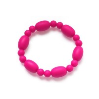 KEAN Soft Food Grade Silicone Baby Oval Beaded Teether Teething Bracelet JewelryKEAN Soft Food Grade Silicone Baby Oval Beaded Teether Teething Bracelet Jewelry<br>