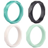 KEAN Food Grade Silicone Baby Chew Teether Teething Bracelet Diamond Texture Bangle NEWKEAN Food Grade Silicone Baby Chew Teether Teething Bracelet Diamond Texture Bangle NEW<br>