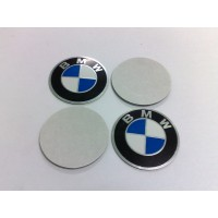 BMW 64mm Aluminium Wheel Center Caps Emblem Logo