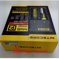 2015 new version 1PC Nitecore Battery Charger for 16340 10440 AA AAA 14500 18650 26650 Battery Charger Nitecore I2 Charger