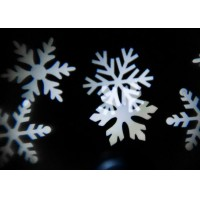 LED White snowflake with stake for Christmas outdoor decoration garden light