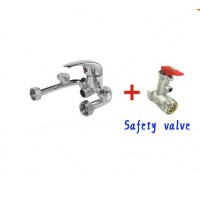 Electric water heater mixing valve switch surface mounted shower mixing of hot and cold water Universal Parts