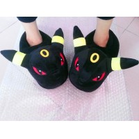 Anime Pokemon Pikachu Umbreon Fun Accessories Unisex Home Slippers Toy Cosplay Gift