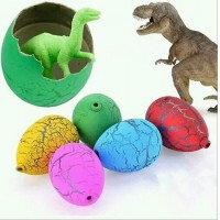 60pcs Kids Easter Egg Easter Dinosaur Animal Eggs Hatch Out Teaching Toy
