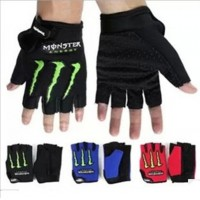 Motocross gloves half finger cycling gloves ghost hand gloves half finger knight equipment