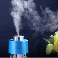 Mini Humidifier DC 5V Office Air Diffuser 2pcs Absorbent Filter Sticks USB Portable ABS Water Bottle Cap Aroma Mist Maker