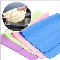 Free Shipping Multifunction Synthetic Deerskin PVA Towel Super Absorbent Cloth Cleaning Towel For Car Wash Human Hair Dryer