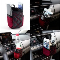 1pcs Mobile Phone Bag Multi-functional Auto Supplies Bag Car Storage Pockets Hot Worldwide