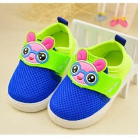 2016 boys Sports shoes girls shoes Kids Baby Shoes First Walkers Net surface Cartoon Running shoes