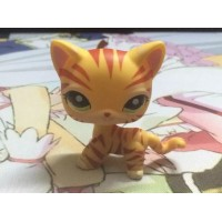Littlest pet shop powder yellow tiger fido birthday gift
