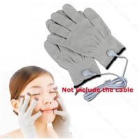 CONDUCTIVE ELECTROTHERAPY MASSAGE ELECTRODE GLOVES USE WITH TENS MACHINE