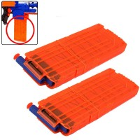 2pcs Magazine Clip for Nerf Nerf N-strike Elite Blaster 9925 9926
