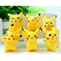 6Pcs one set Pokemon Cosplay toy Fun Toys Gift Kid Children