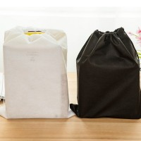 2Pcs Fabrics Drawstring Underwear Bag Storage Shoes Pouch Organiser Travel Bag