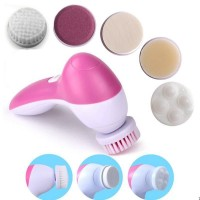 5 in 1 Electric Facial Cleaner Body Cleaning Massage Machine Pedicure