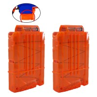 2Pcs Magazine Darts Quick Reload Clip Kit For Nerf N-Strike 9927