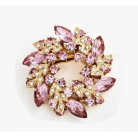 New fashion crystal brooches for women