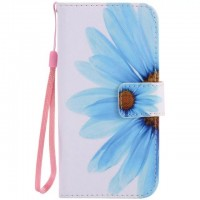 Painted sunflower flip leather case for Samsung Galaxy S3 S4 S5 S6 edge G360 G530 card cover Card slot wallet with kickstand phone stand