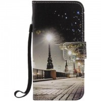Painted Cityscape flip leather case for Samsung Galaxy S3 S4 S5 S6 edge G360 G530 card cover Card slot wallet with kickstand phone stand
