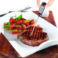 StarCat Digital Stainless Cooking Thermometer with Instant Read for Food, Meat, Grill, BBQ