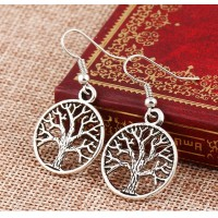 Candy Tree of Life Dangle Earrings