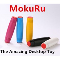 Mokuru Fidget Roller Fidget Toys MOBAR Stress Reliever Desktop Flip Toys Hand-Eye Co-ordination Concentration Trainer Japan MOKURU Toy